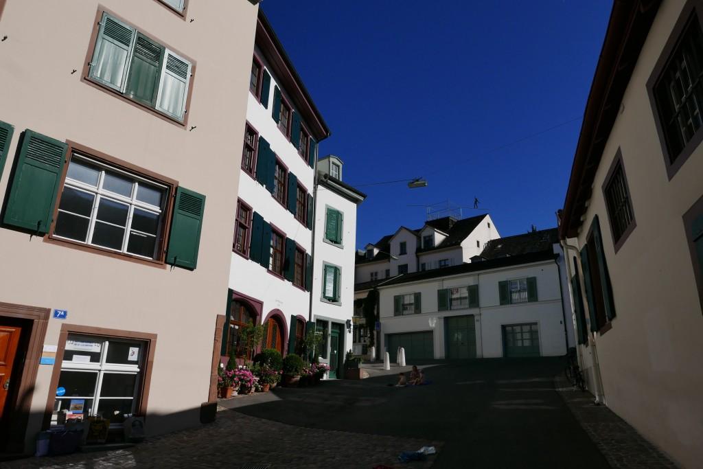 Dans le quartier du Heuberg © GP