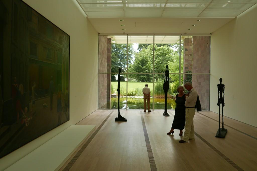 Entre Balthus et Giacometti, à la fondation Beyeler © GP