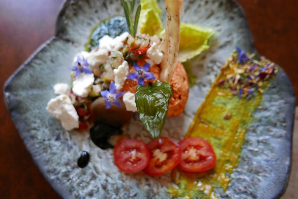 Mousse de tomate à la féta © GP