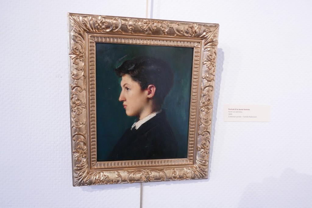 Portrait de jeune homme ©GP