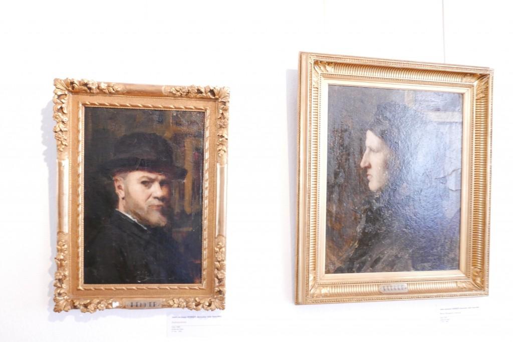 Deux portraits au musée d'Altkirch © GP
