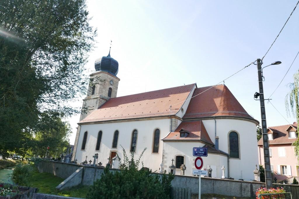 L'église de Bernwiller © GP