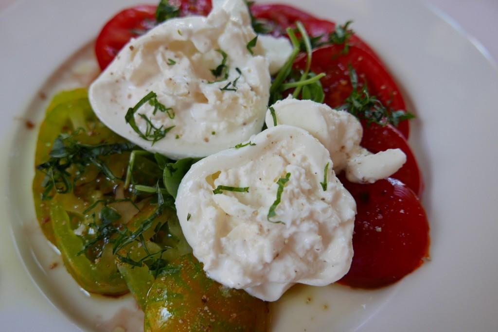 Tomates mozzarella © GP