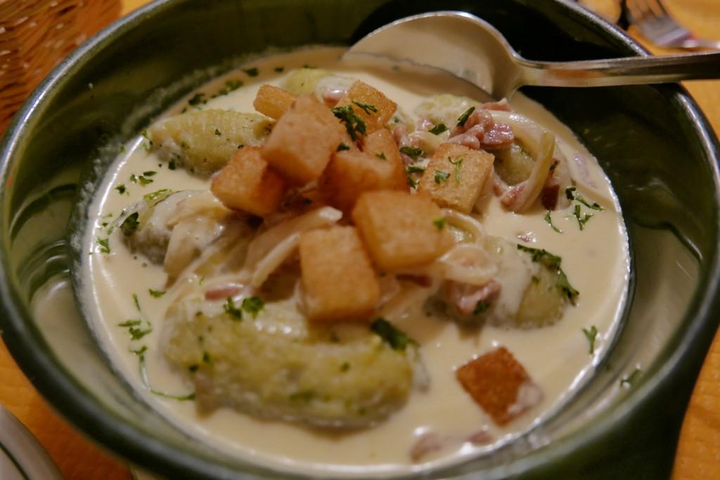 Quenelles de pommes de terre © GP