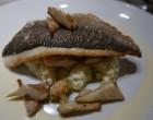 Dorade et risotto aux artichauts © GP