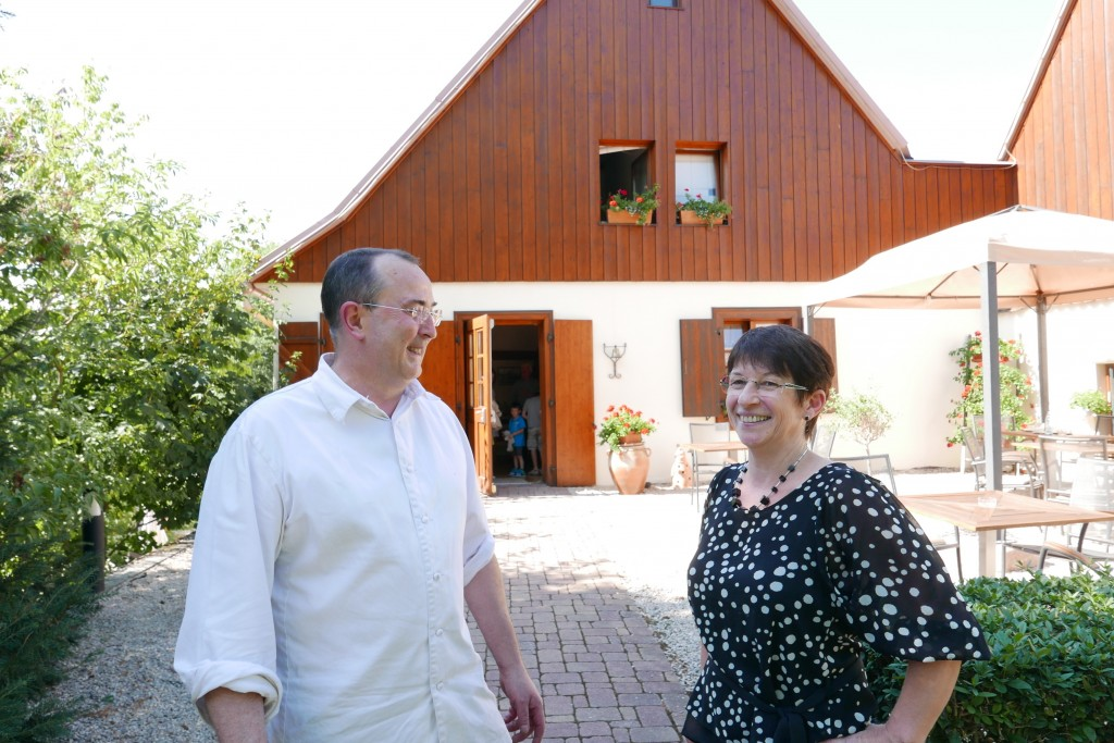 Bernard et Martine Leray © GP