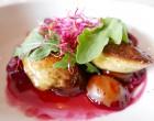 Foie gras chaud aux quetsches © GP
