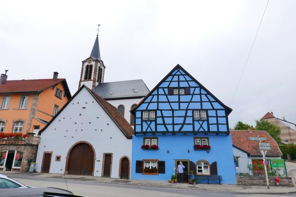 La maison et l'église © GP