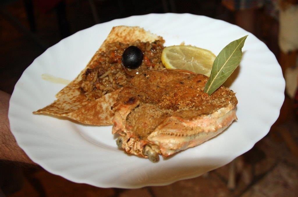 Risotto de crabe © AA