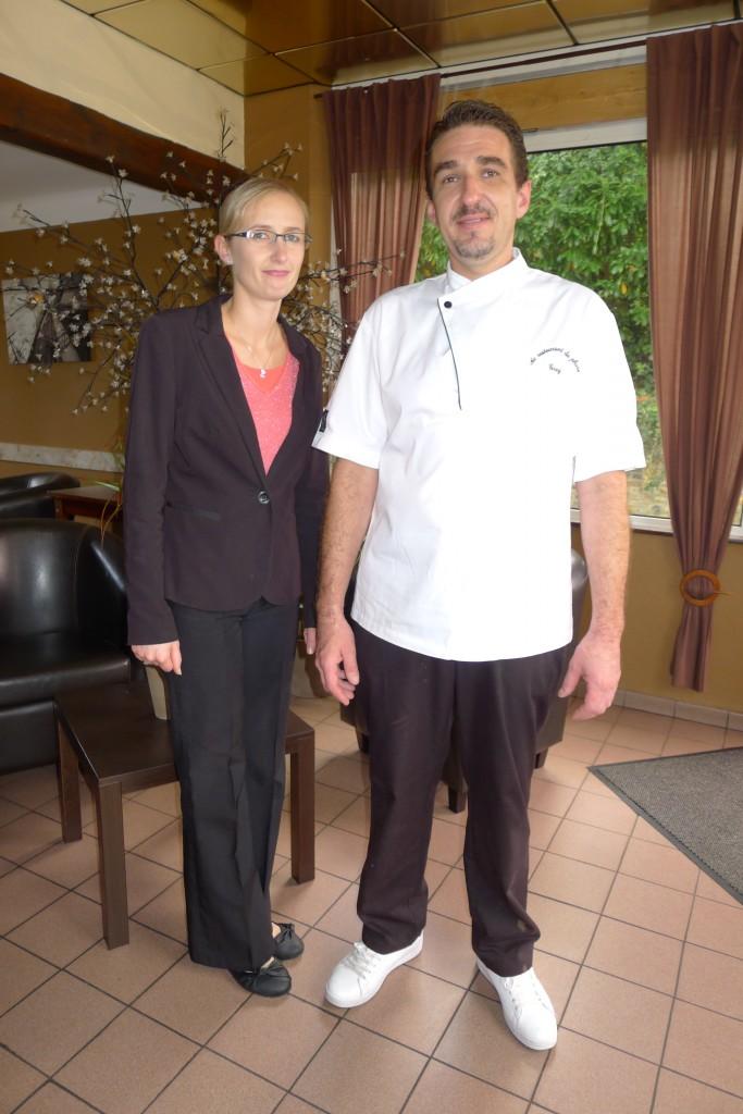 Grégory Fantou et son épouse © JPE
