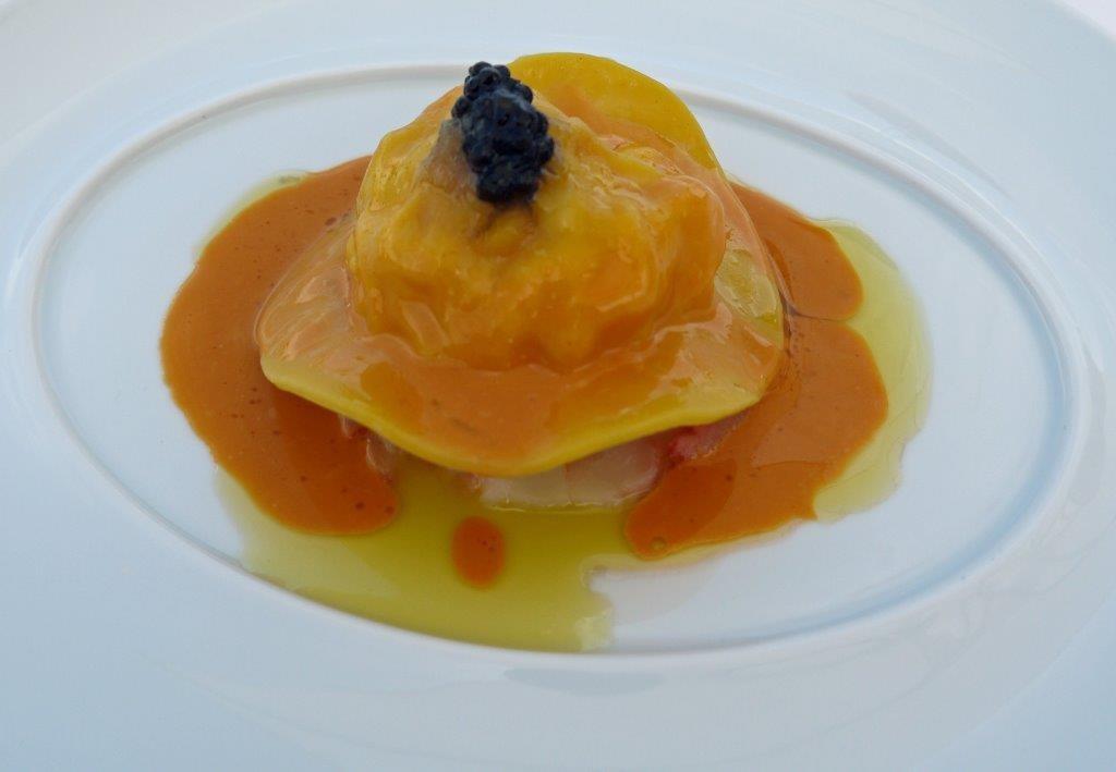 Raviole de langoustine d'Ecosse ©AA