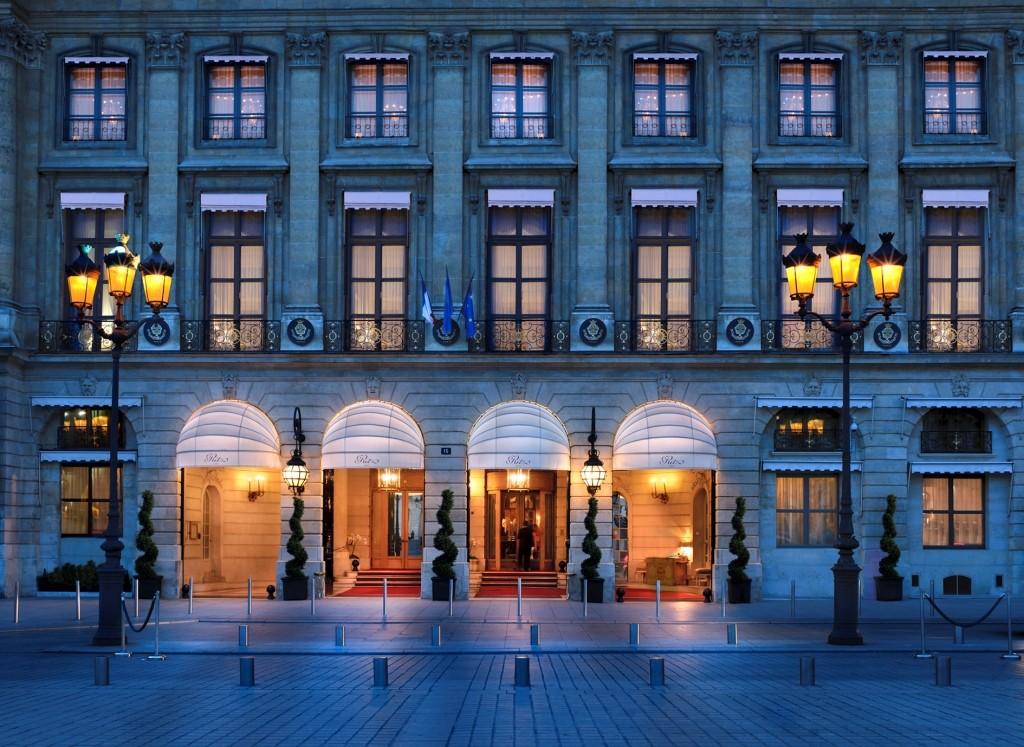 Ritz: façade sur la place Vendôme © GP