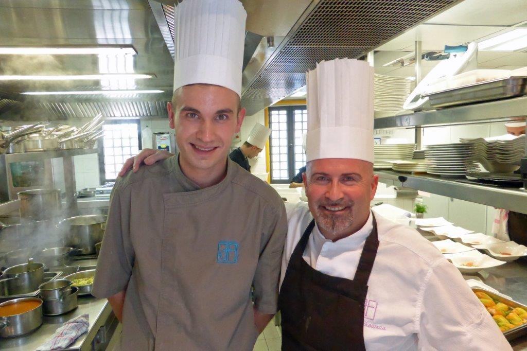 Alexis Bourgniet et Didier Chouteau ©AA