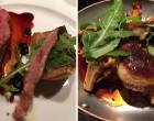 Canette et foie gras et girolles ©DB
