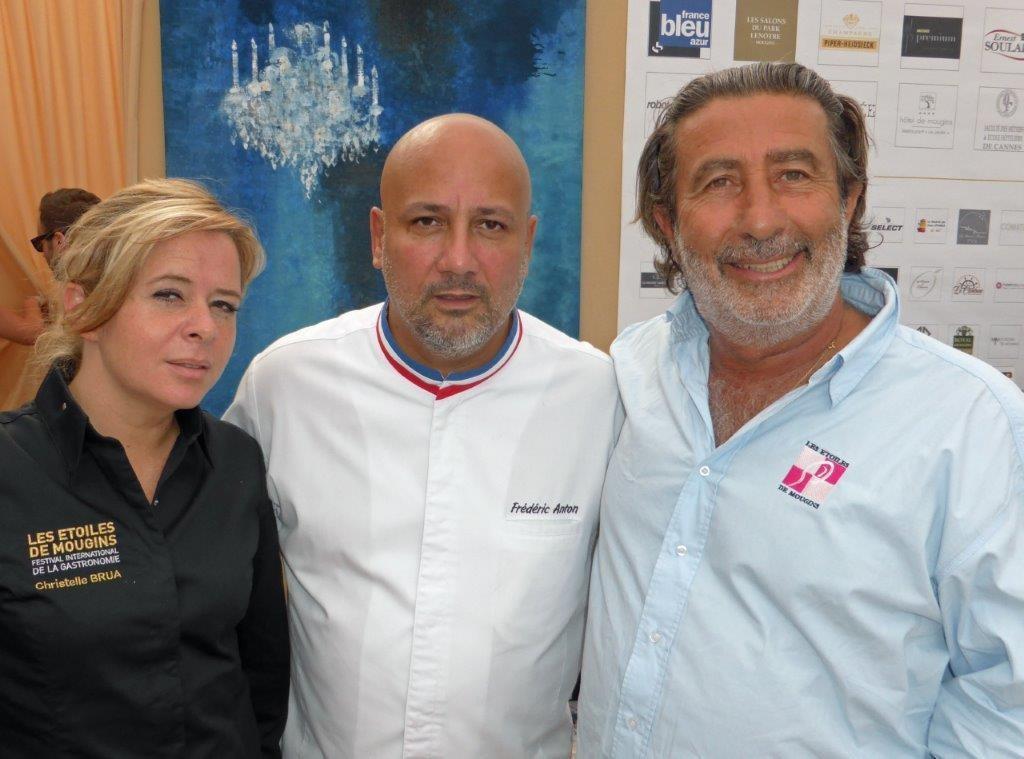 Christelle Brua, Frederic Anton et Dominique Fantino ©AA