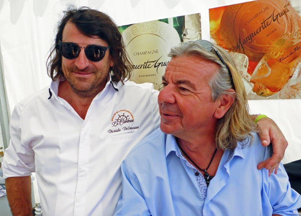 Davide et Jean Luc Rabanel ©AA