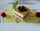 Entremet cassis © AA