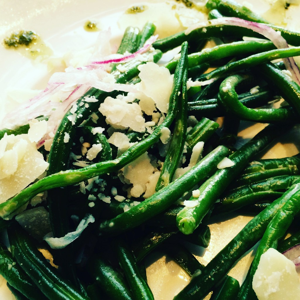 Salade de haricots verts © GP