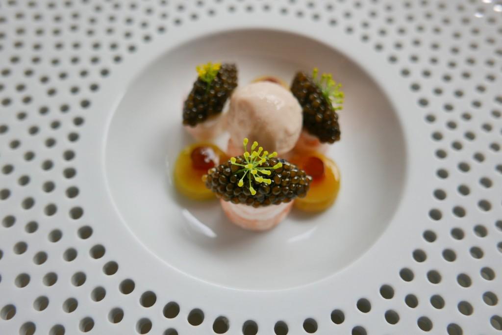 Langoustines et caviar © GP