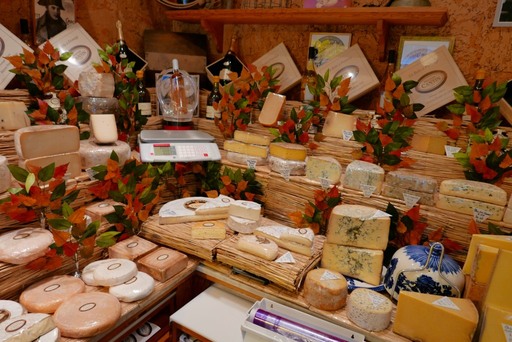 Quelques fromages © GP