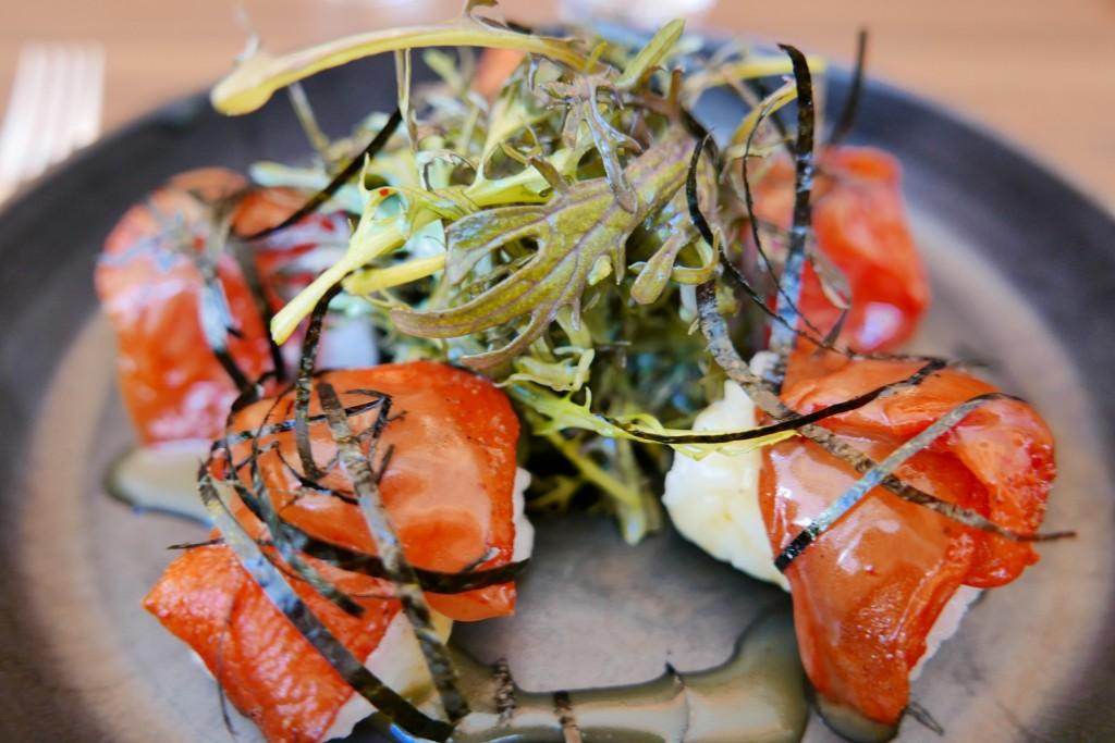 Pétales de tomates façon sushi © GP