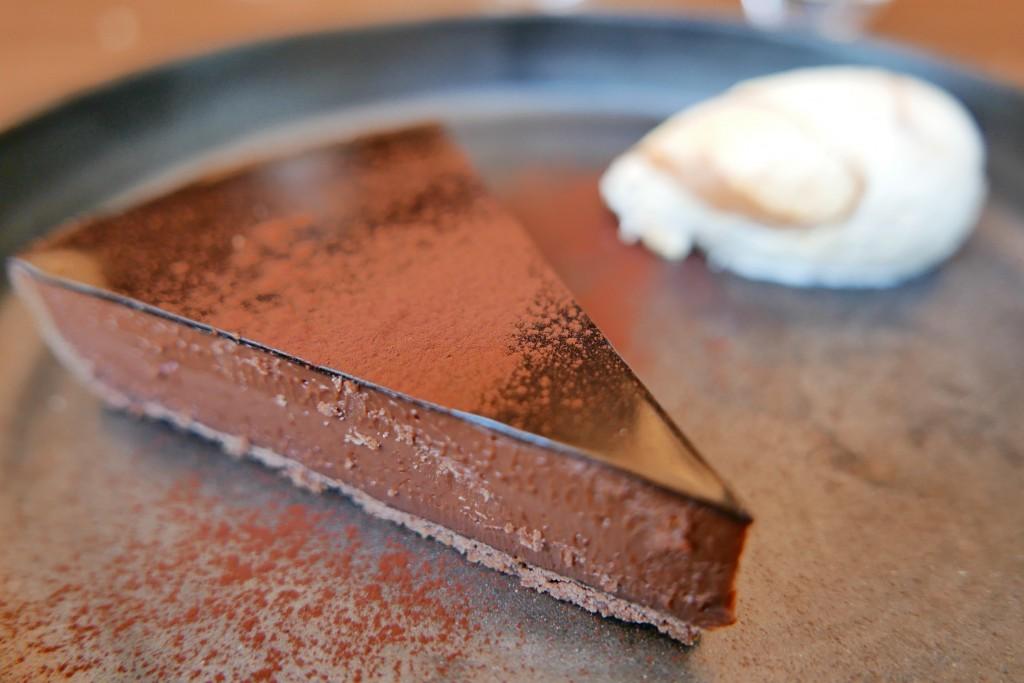 """""""Fabuleuse"""" tarte au chocolat © GP"""