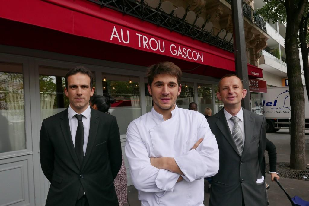 Clément Thouvenot et le service © GP