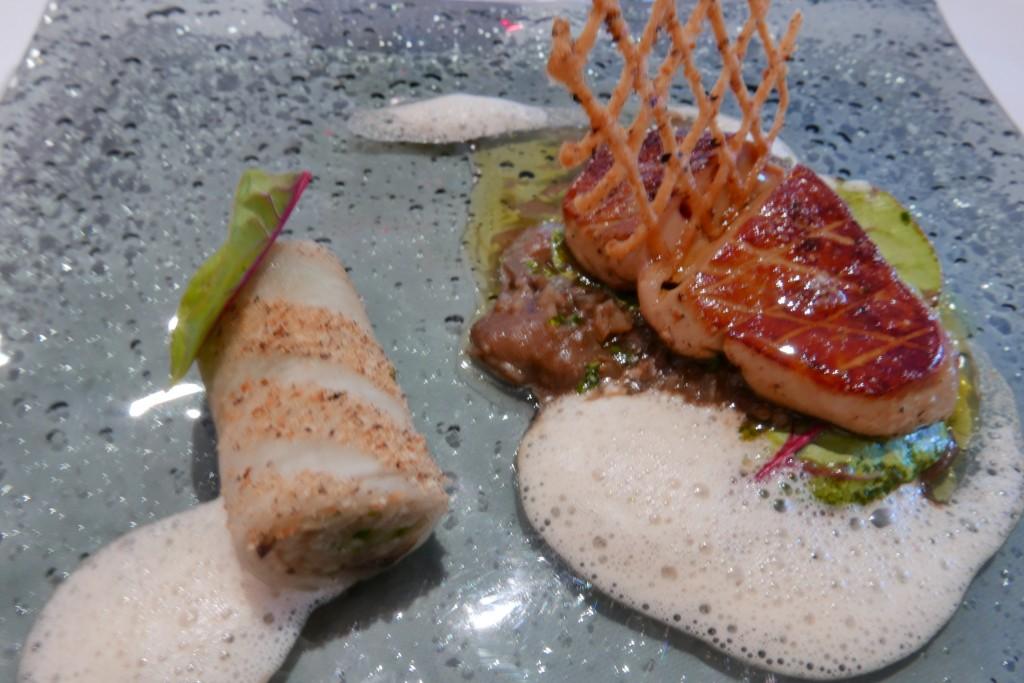 Foie gras chaud et navet © GP
