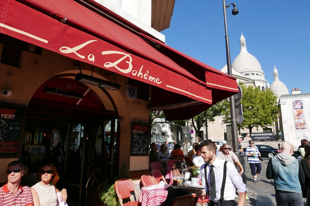 Restaurant La Boheme Paris