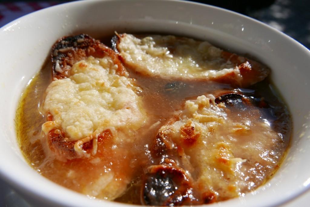 Soupe à l'oignon © GP