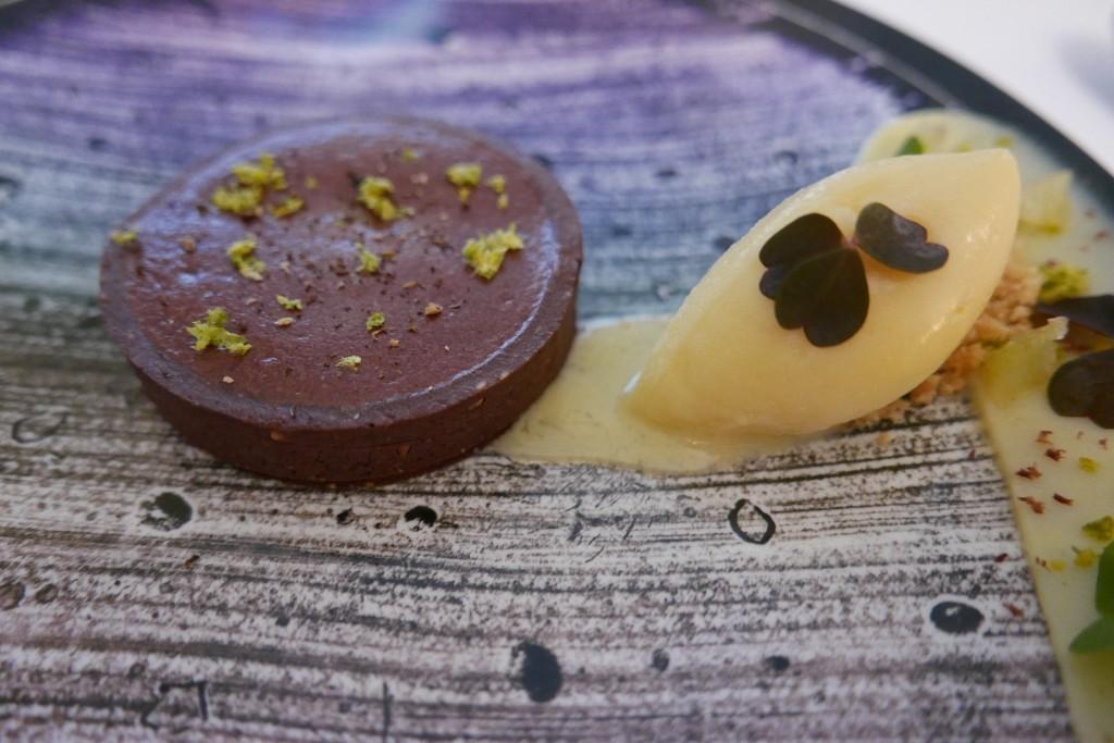 Tarte soufflée au citron et chocolat © GP