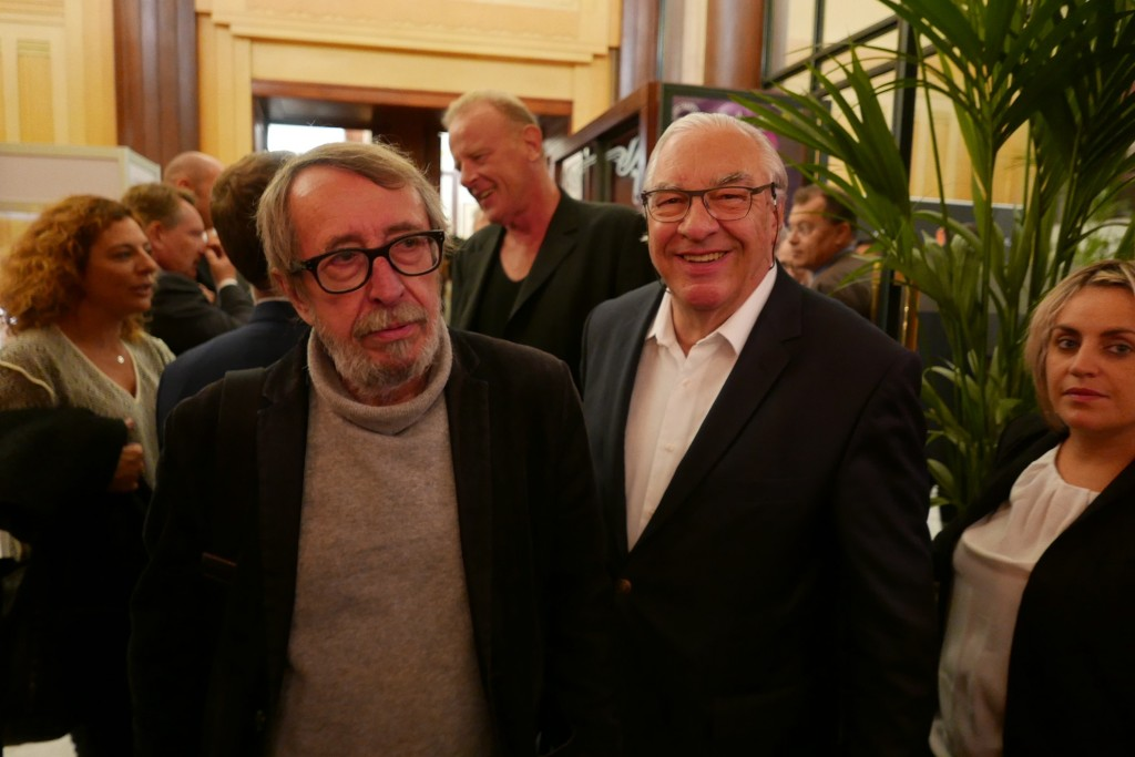 Patrick Rambaud et Didier Decoin © GP