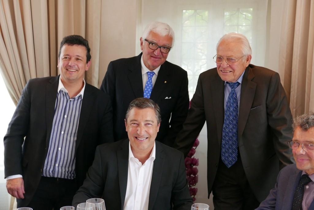 Lazare Saguer, Joan Roca, Antonio Santini, Fredy Girardet ©GP