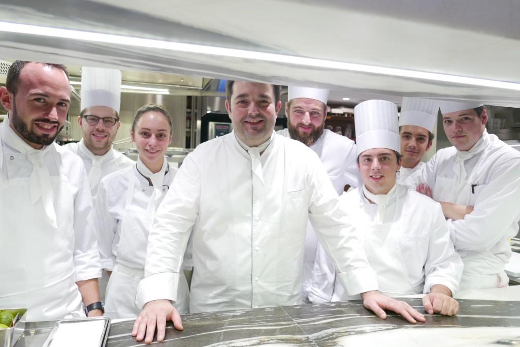 Jean-François Piège en cuisine ©GP