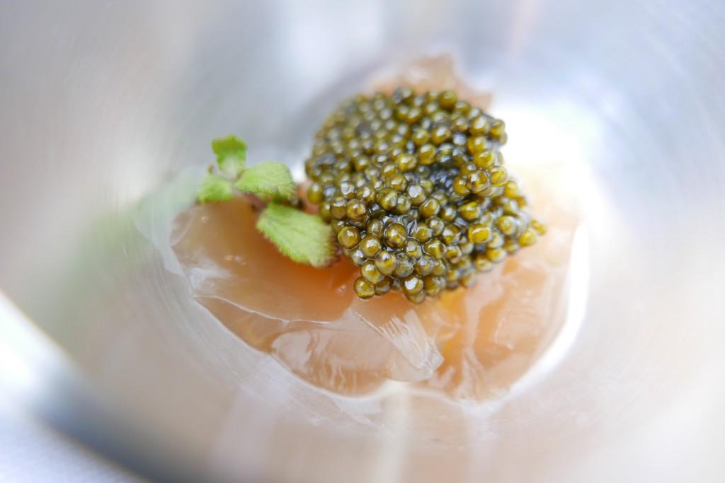 Gelée de crustacé et caviar © GP