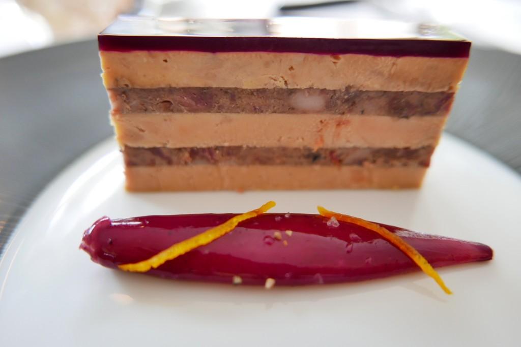 Foie gras et chevreuil © GP
