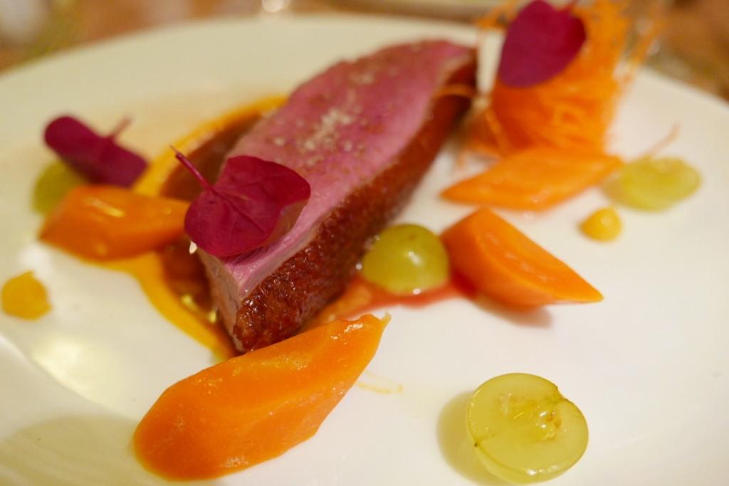 Magret de canard aux carottes © GP