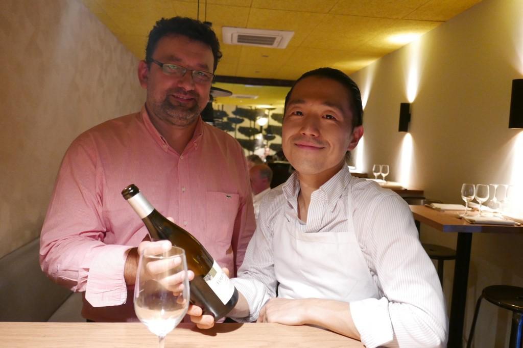 Laurent Bigot et Yoshitaka Takayanagi ©GP
