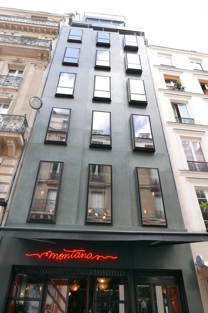 hotel montana h tel paris 6e restaurant la gauche