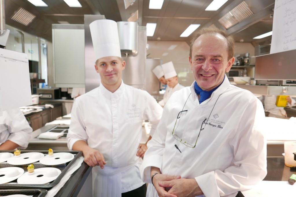 Jérôme Schilling et JGK en cuisine © GP