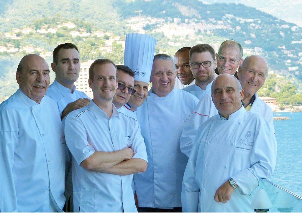 Les chefs monégasques © DR