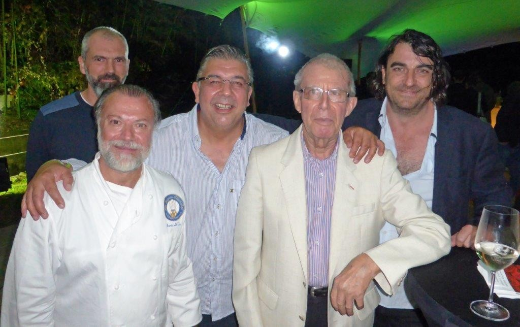 Mario D'Orio, Bruno Sohn , Christian Willer et Davide ©AA