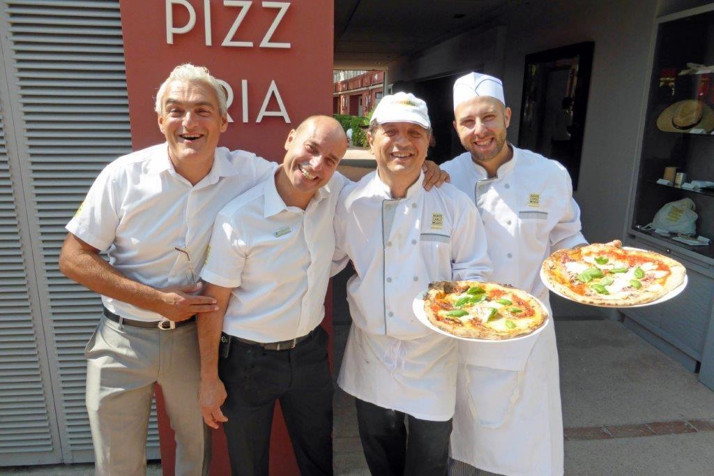 Patrick, Cédric, Giovanni et Tomasino ©AA