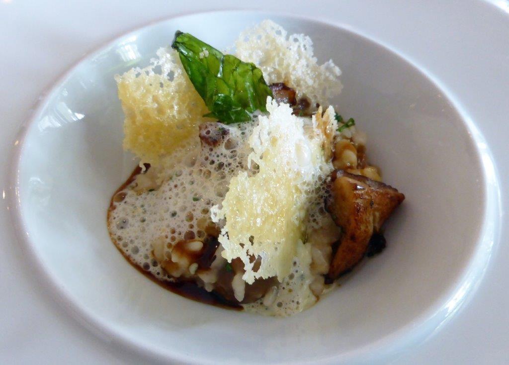 Risotto parmesan et cepes ©AA