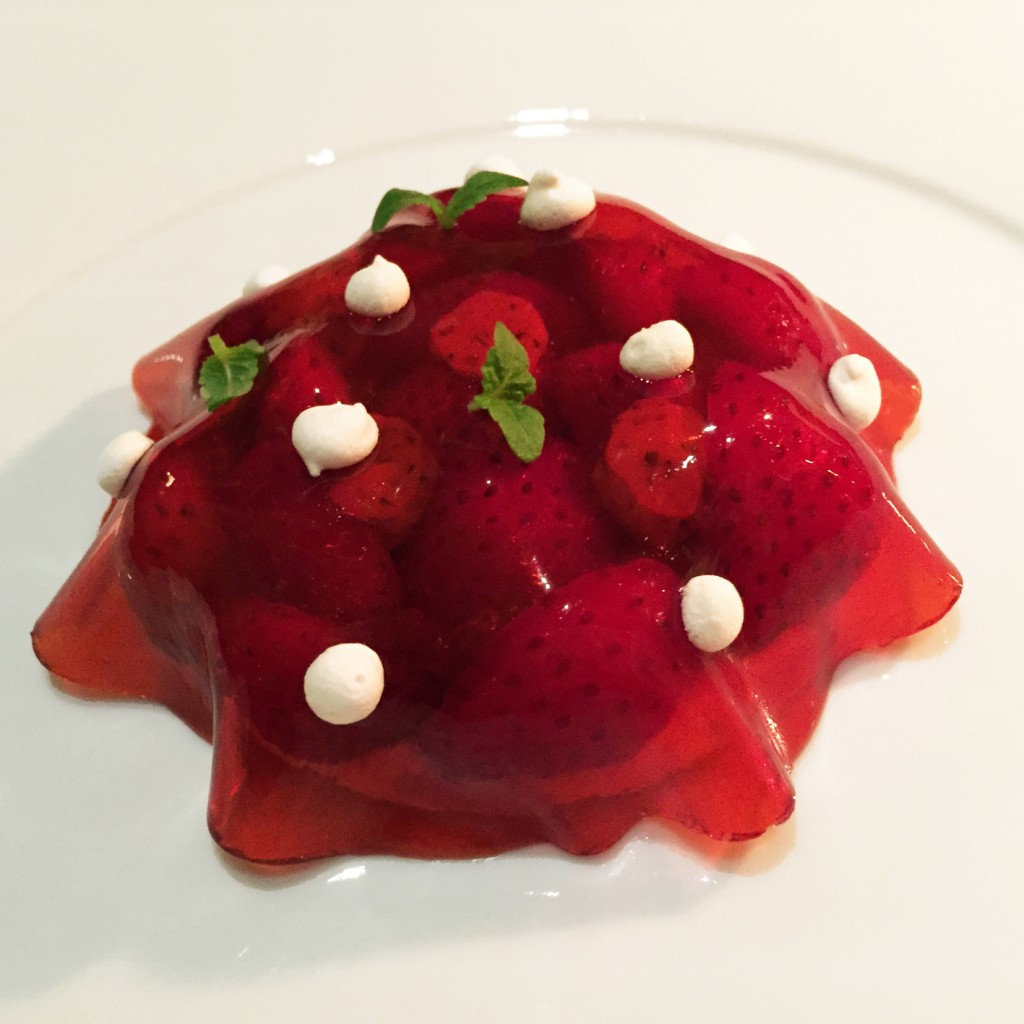 Tartelette aux fraises © DB