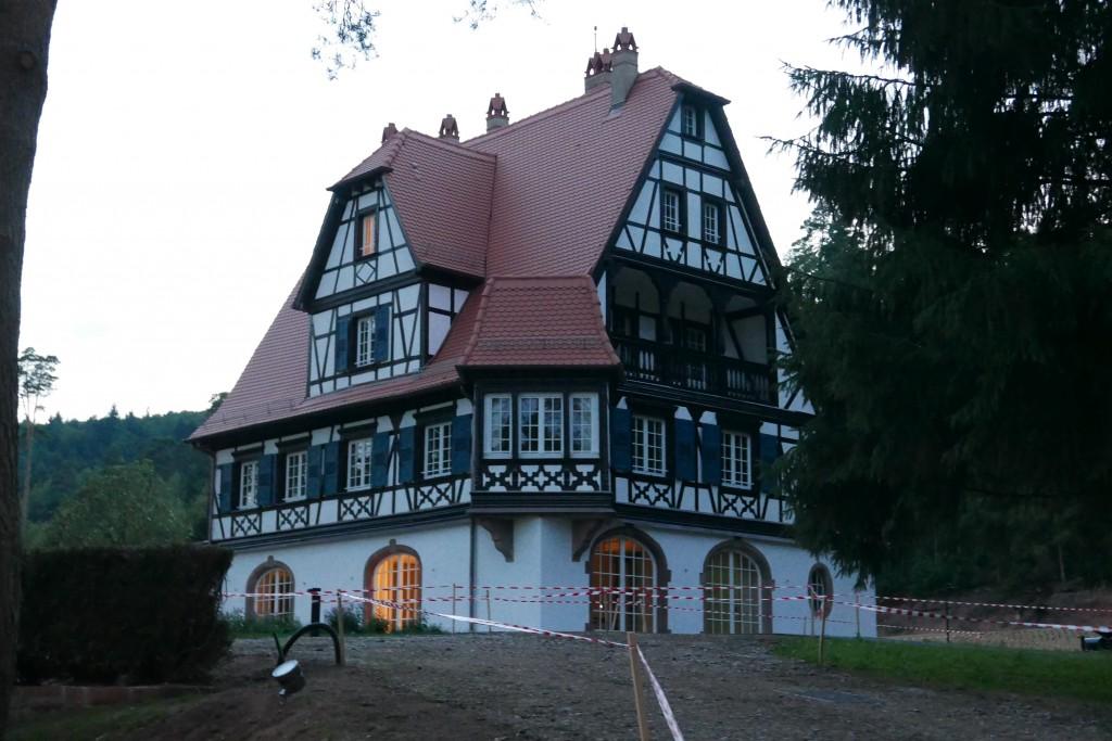 La Villa René Lalique le 30 août © GP