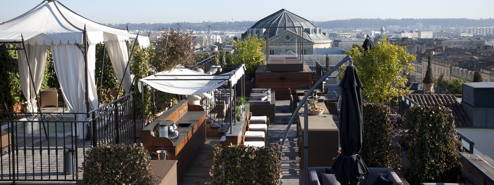 La terrasse for La boutique hotel de bordeaux