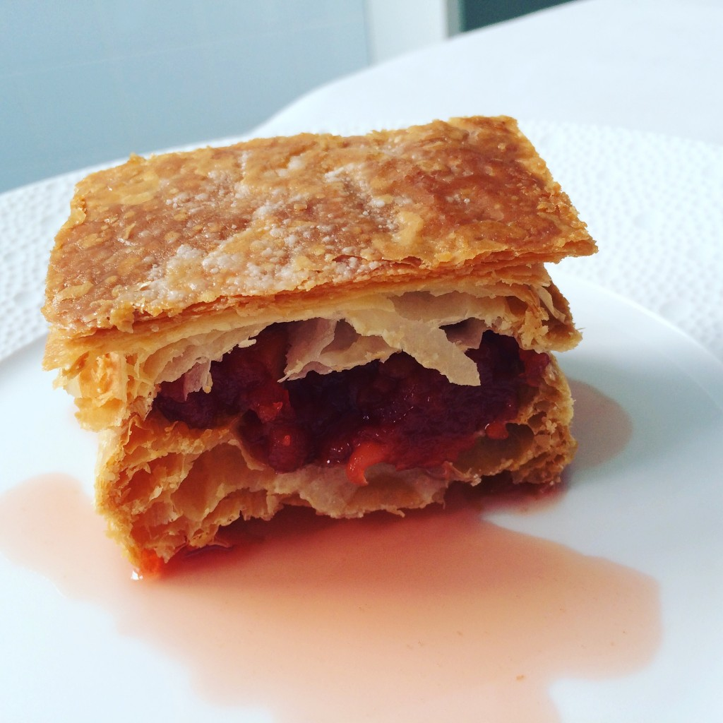 Mille-feuille aux coings © GP
