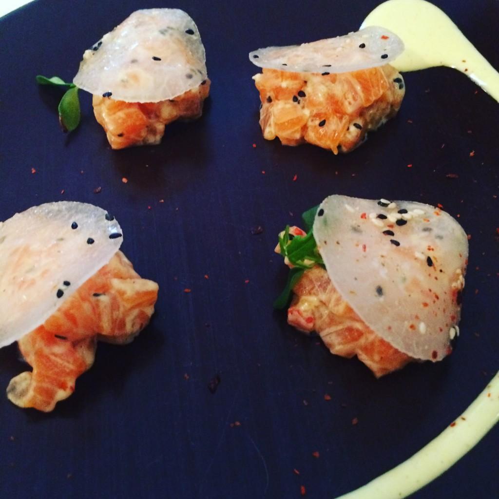 Tartare de saumon © GP