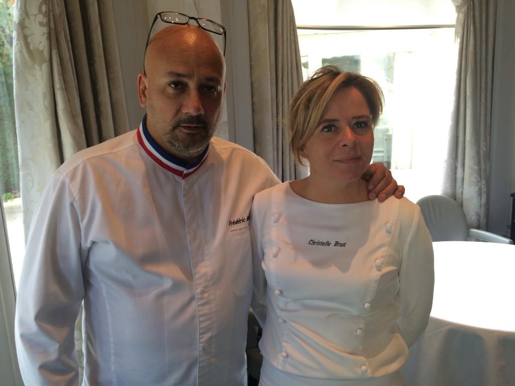 Frédéric Anton et Christelle Brua © GP